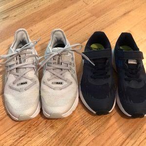 Boys Nike sneakers size 2